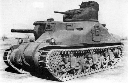 Средний танк М-3А1