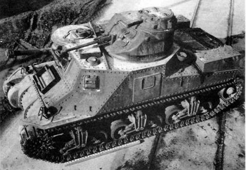 Средний танк М-3А2