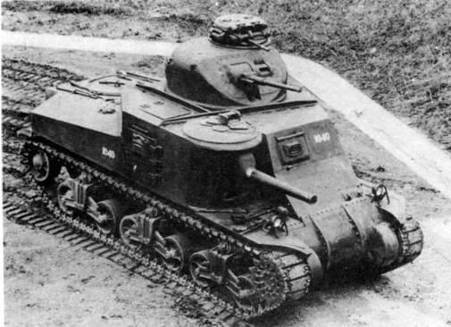 Средний танк М-3А4