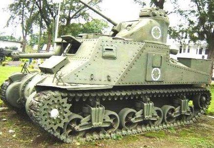 Средний танк М-3А5