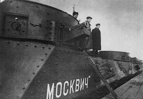 Бронепоезд типа ОБ-3: «Москвич» №697