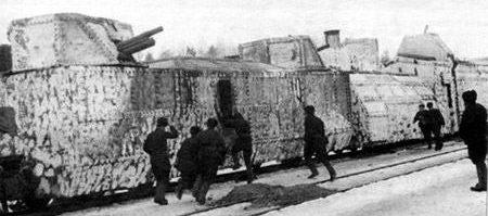 Бронепоезд типа НКПС-42