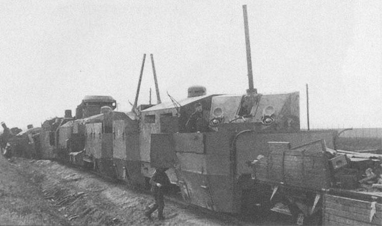 Бронепоезд крымского типа «Орджоникидзевец», захваченный Вермахтом