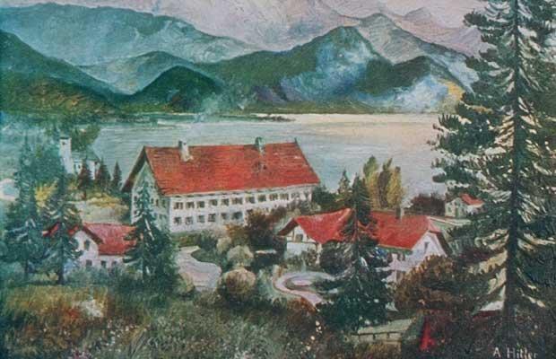 Картина Гитлера