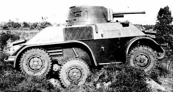 Бронеавтомобиль Pantserwagen М-39