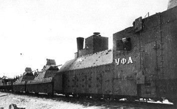 Бронепаровоз ПР-43 бронепоезда «Уфа»