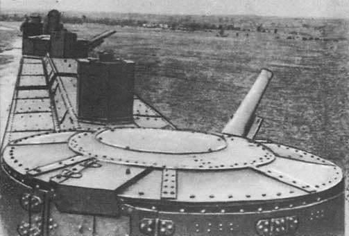 Тяжелая бронеплощадка ПТ-35