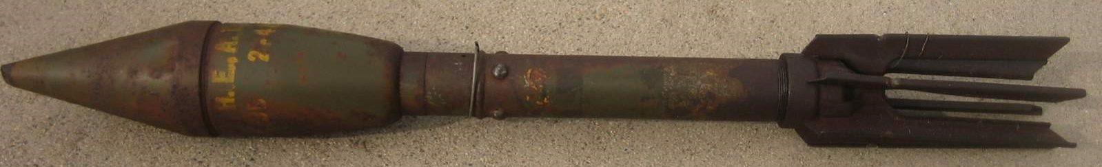Реактивная граната M-6A1