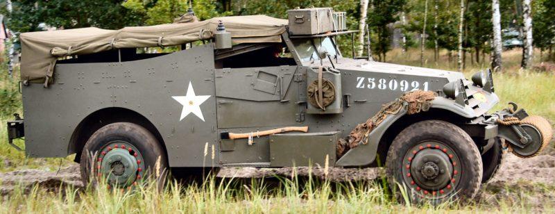 Бронетранспортер Scout Car M-3A1