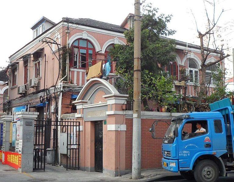 Дом бывшей японской «Станции утех» в Шанхае. 2011 г.