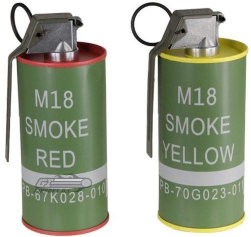 Дымовая граната M-18
