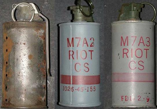 Газовые гранаты M7 / M-7A2 / M-7A3