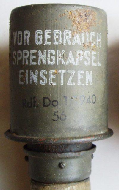 Дымовая граната Varsisavukäsikranaatti M-43
