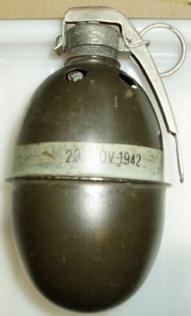 Дымовая граната Rökhandgranat М-37
