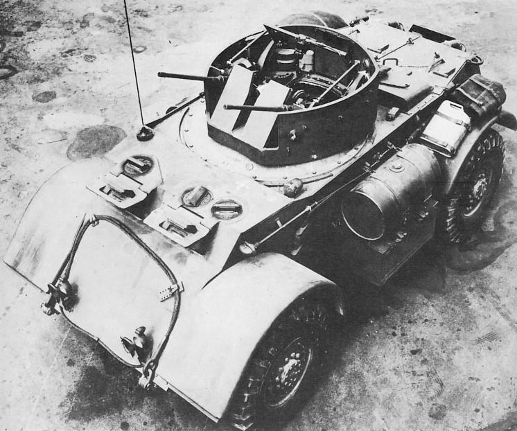 Тяжелый бронеавтомобиль М6 Staghound АА (T17E2) в варианте ЗСУ