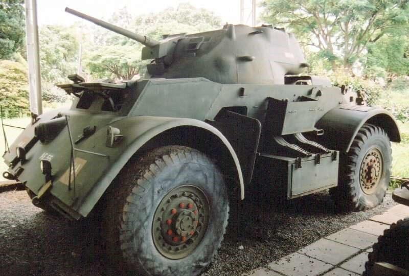 Средний броневик М-6 Staghound