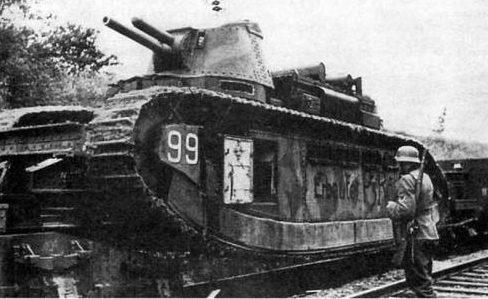 Сверхтяжелый танк Char 2-C