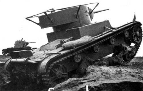 Легкий танк Т-26 образца 1933 г.