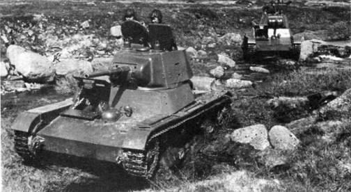 Легкий танк Т-26 образца 1939 г.