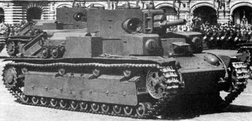 Средний танк Т-28 - Е экранированный