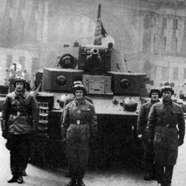 Средний танк Т-28 образца 1940 г.
