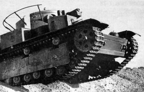 Танк Т-28 образца 1936 г.