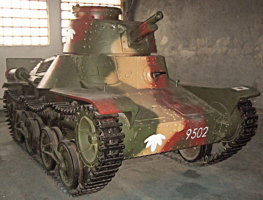 Легкий танк Ke-Nu Туре 4