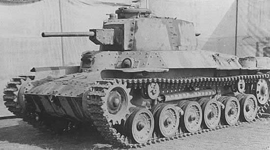 Легкий танк «Ke-Ni» Type 98 (Type 98 Chi-Ni)