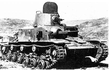 Малый танк Heavy Armoured Car Type 92