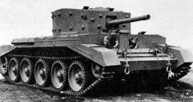 крейсерский танк Mk-VIII Centaur-I