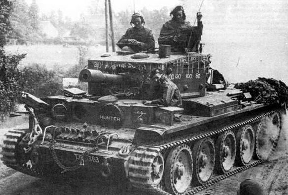 крейсерский танк Mk-VIII Centaur-IV