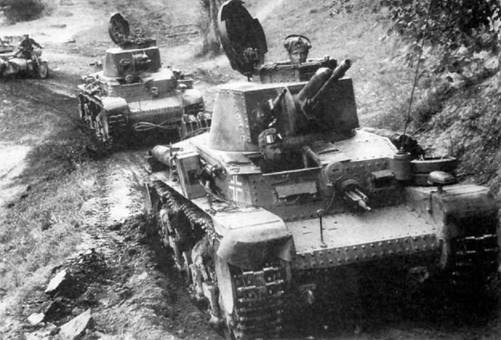 Танк Pz.35(t).