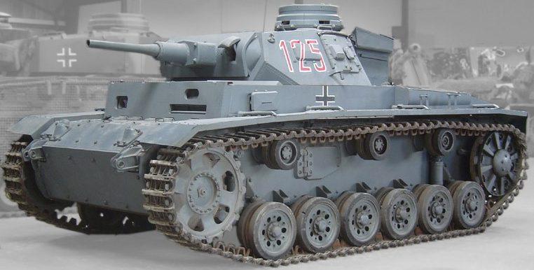 Средний танк Pz.III Ausf.H