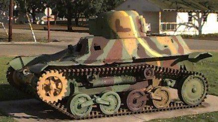 Легкий танк Te-Ke Type 97
