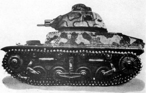 Легкий танк AMC-34 с 25-мм пушкой