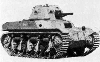 Легкий танк AMC-34 с 47-мм пушкой