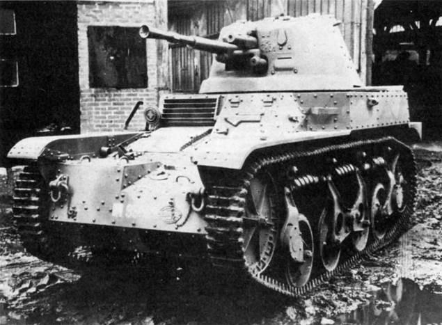 легкий танк AMR-35 ZT2