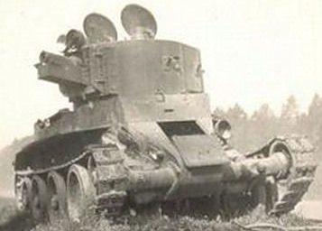 Танк БТ-7А с 76-мм пушкой КТ