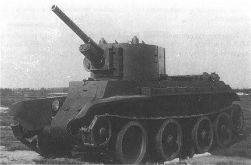 Танк БТ-7Ас пушкой Ф-32