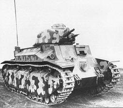 Легкий танк Char de bataille D-2