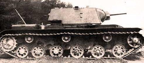 Тяжелый огнеметный танк КВ-8С