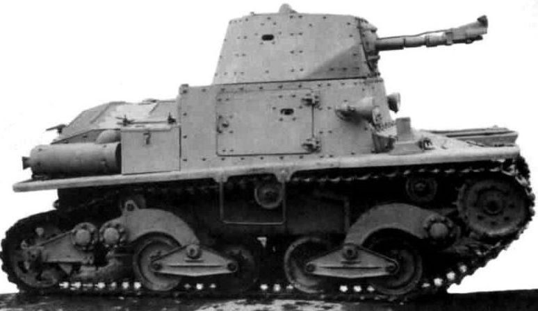Легкий огнеметный танк L6/40 L.F
