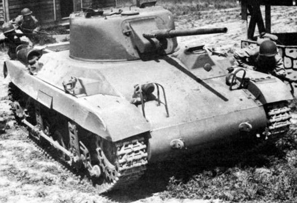 Легкий танк M-22 Locust