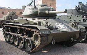 Легкий танк M-24 Chaffee