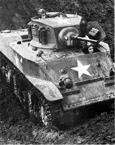 Легкий танк M5