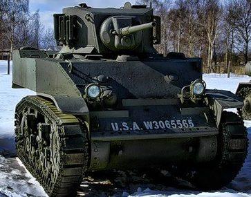 Легкий танк M-5A1
