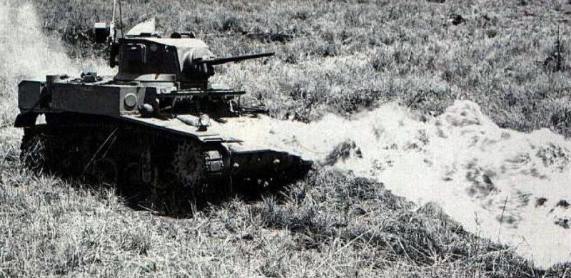 Легкий огнеметный танк «М-3 Satan»
