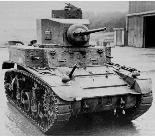 Легкий танк M-3 «Stuart» І
