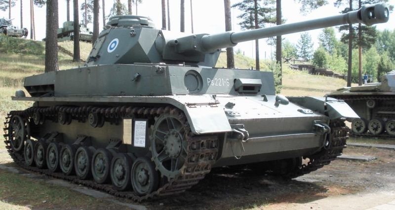 Средний танк Pz-IV Ausf.J