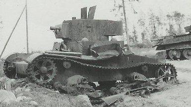 Легкий огнеметный танк ОТ-130 (ХТ-130)